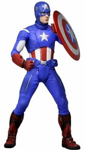 NECA Marvel Quarter Scale Action Figure Captain America