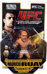 Round 5 UFC Ultimate Collector Series 5 CHAMPIONSHIP EDITION Action Figure Mauricio Rua {Chase Piece} [Includes Belt!]