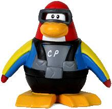 Disney Club Penguin 2 Inch Mini Figure Scuba Diver