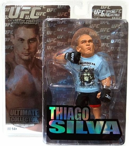 Round 5 UFC Ultimate Collector Series 5 LIMITED EDITION Action Figure Thiago Silva Only 1,000 Made!
