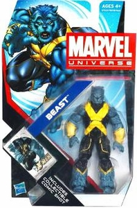 Marvel Universe 3 3/4 Inch Series 18 Action Figure #10 Beast [Standing Straight Up]