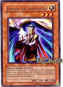 YuGiOh Labyrinth of Nightmare Single Card Rare LON-061 Jowgen the Spiritualist