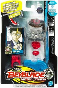 Beyblades Metal Fusion Balance Battle Top #BB29 Dark Wolf