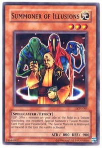 YuGiOh Labyrinth of Nightmare Single Card Common LON-063 Summoner of Illusions