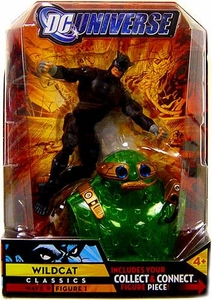 DC Universe Classics Series 9 Action Figure Wildcat {Black} [Build Chemo Piece!]