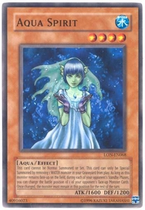 YuGiOh Labyrinth of Nightmare Single Card Common LON-068 Aqua Spirit