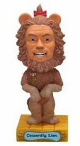 Funko Wizard of Oz Wacky Wobbler Bobble Head Cowardly Lion