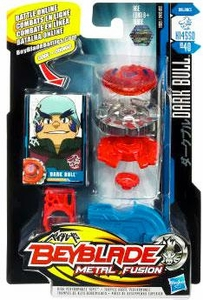 Beyblades Metal Fusion Balance Battle Top #BB40 Dark Bull
