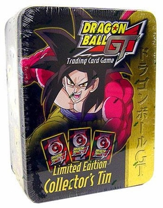 Dragon Ball GT Score Trading Card Game Limited Edition Collector's Tin SS4 Goku