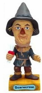 Funko Wizard of Oz Wacky Wobbler Bobble Head Scarecrow