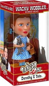 Funko Wizard of Oz Wacky Wobbler Bobble Head Dorothy & Toto