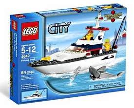 LEGO City Set #4642 Fishing Boat