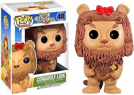 Funko POP! Wizard of Oz Vinyl Figure Cowardly Lion New!