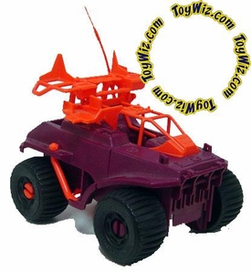 GI Joe Vintage Purple Loose Vehicle C-7 Condition Incomplete