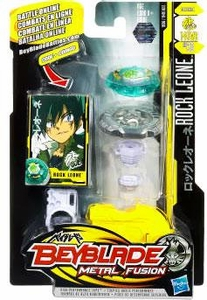 Beyblades Metal Fusion Defense Battle Top #BB30 Rock Leone