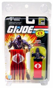 GI Joe 2008 SDCC San Diego Comic-Con Exclusive Action Figure Cobra Leader [Blue Suit]
