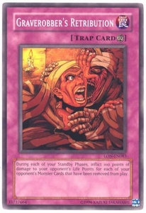 YuGiOh Labyrinth of Nightmare Single Card Common LON-083 Graverobber's Retribution