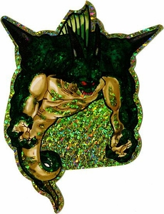 Dragonball Z Deluxe Prismatic GOLD Sticker Porunga
