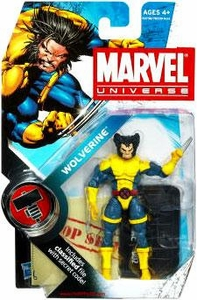 Marvel Universe 3 3/4 Inch Series 6 Action Figure #2 Wolverine [Normal Head]