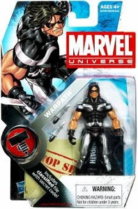 Marvel Universe 3 3/4 Inch Series 6 Action Figure #3 Warpath [Black & Silver]