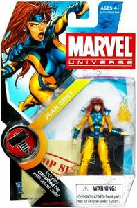 Marvel Universe 3 3/4 Inch Series 6 Action Figure #4 Jean Grey