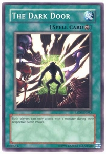 YuGiOh Labyrinth of Nightmare Single Card Common LON-093 The Dark Door