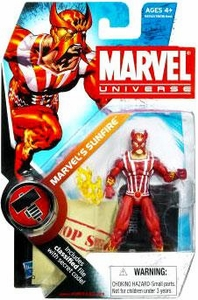 Marvel Universe 3 3/4 Inch Series 6 Action Figure #5 Marvel's Sunfire