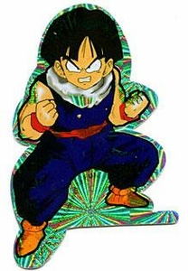 Dragonball Z Prismatic Sticker Kid Gohan