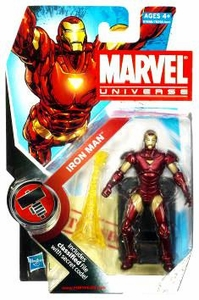 Marvel Universe 3 3/4 Inch Series 7 Action Figure #7 Iron Man