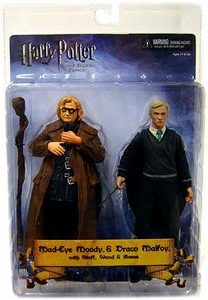 NECA Harry Potter and the Half Blood Prince 7 Inch Action Figure 2-Pack Mad Eye Moody & Draco Malfoy