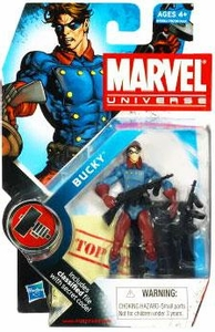 Marvel Universe 3 3/4 Inch Series 7 Action Figure #10 Bucky [Classic]