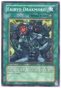 YuGiOh Labyrinth of Nightmare Single Card Common LON-099 Ekibyo Drakmord