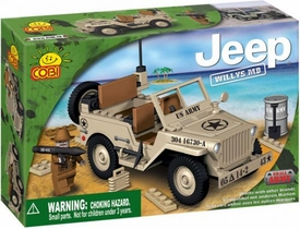 COBI Blocks Jeep #24111 Willy's Desert
