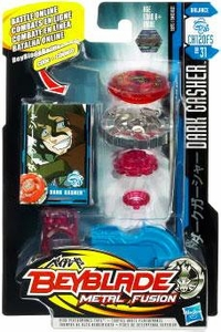 Beyblades Metal Fusion Balance Battle Top #BB31 Dark Gasher