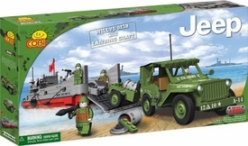 COBI Blocks Jeep #24500 Willy's & Landing Craft