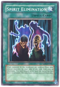 YuGiOh Labyrinth of Nightmare Single Card Common LON-102 Spirit Elimination