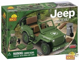 COBI Blocks Jeep #24110 Willy's Green
