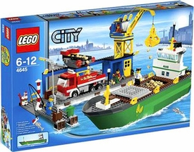 LEGO City Exclusive Set #4645 Harbour