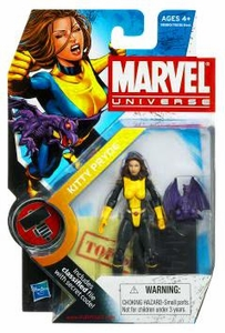Marvel Universe 3 3/4 Inch Series 8 Action Figure #17 Kitty Pryde & Lockheed