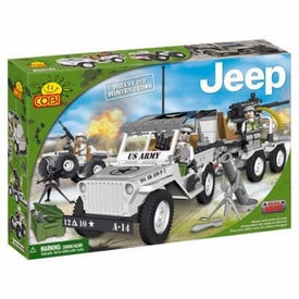COBI Blocks Jeep #24250 Winter Squad