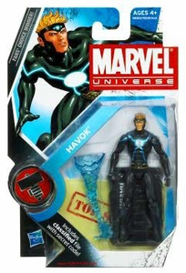 Marvel Universe 3 3/4 Inch Series 8 Action Figure #18 Havok [Modern Costume]
