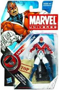 Marvel Universe 3 3/4 Inch Series 10 Action Figure #26 Captain Britain