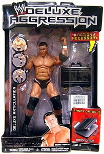 WWE Wrestling DELUXE Aggression Series 10 Action Figure Randy Orton with Briefcase