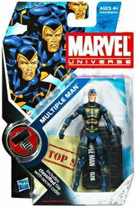 Marvel Universe 3 3/4 Inch Series 10 Action Figure #28 Multiple Man