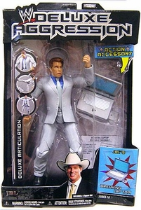 WWE Wrestling DELUXE Aggression Series 10 Action Figure JBL with Breaking Lap Top