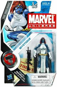 Marvel Universe 3 3/4 Inch Series 10 Action Figure #29 Mystique