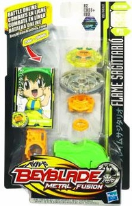 Beyblades Metal Fusion Stamina Battle Top #BB35 Flame Sagittario