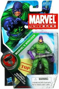 Marvel Universe 3 3/4 Inch Series 9 Action Figure #20 Marvel's Wrecker