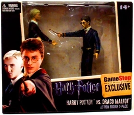 NECA Harry Potter and the Half Blood Prince Exclusive 3.75 Inch Action Figure 2-Pack Harry Potter & Draco Malfoy