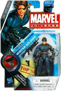 Marvel Universe 3 3/4 Inch Series 9 Action Figure #22 Winter Soldier
